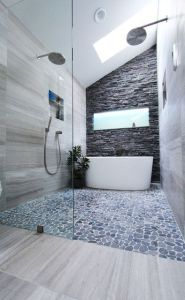 Tiny Master Bathroom 127