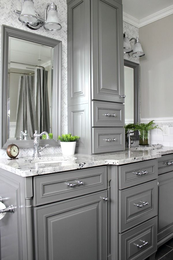 Tiny Master Bathroom 135