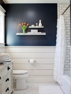 Tiny Master Bathroom 141