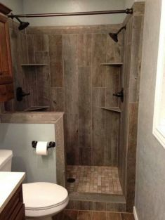 Tiny Master Bathroom 145