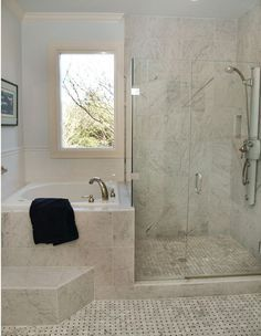 Tiny Master Bathroom 146