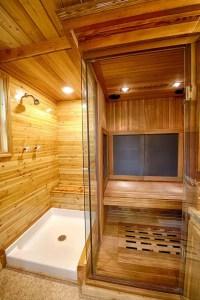 Tiny Master Bathroom 148