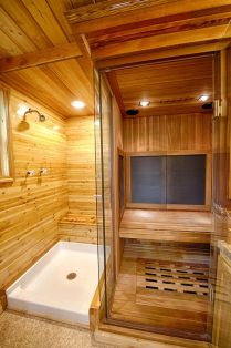 Tiny Master Bathroom 148