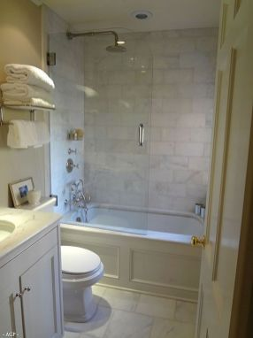 Tiny Master Bathroom 158