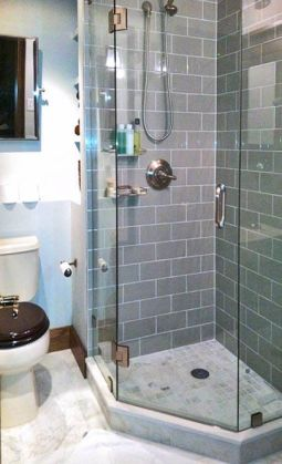 Tiny Master Bathroom 17