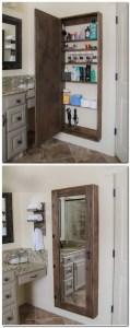 Tiny Master Bathroom 24