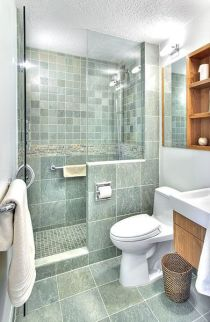 Tiny Master Bathroom 42