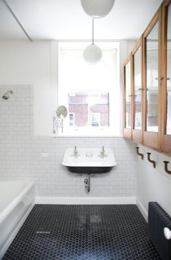 Tiny Master Bathroom 68