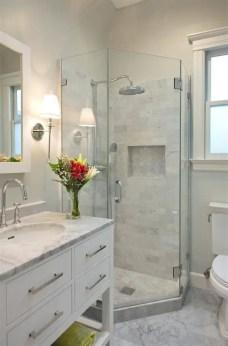 Tiny Master Bathroom 96