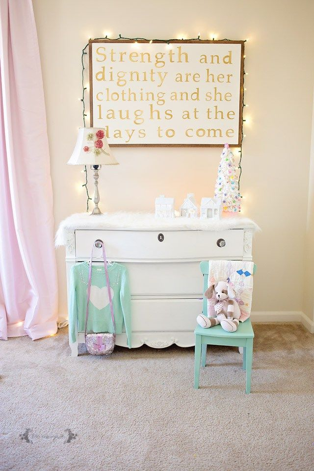 White And Pastel Bedroom 111