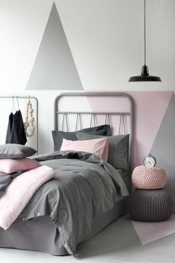 White And Pastel Bedroom 112