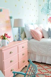 White And Pastel Bedroom 118