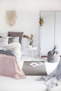 White And Pastel Bedroom 128