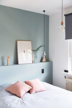 White And Pastel Bedroom 131