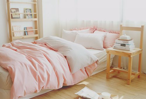 White And Pastel Bedroom 138