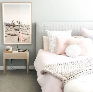 White And Pastel Bedroom 154