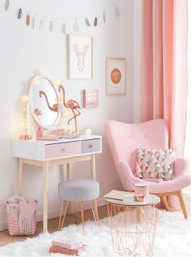 White And Pastel Bedroom 156