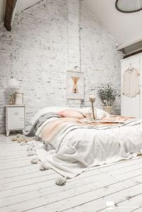 White And Pastel Bedroom 160