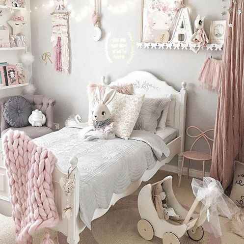 White And Pastel Bedroom 164