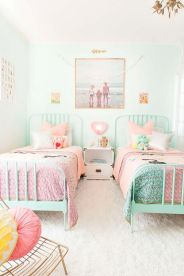 White And Pastel Bedroom 172