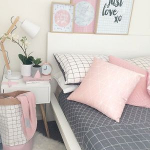 White And Pastel Bedroom 18