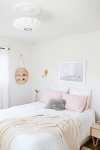 White And Pastel Bedroom 2