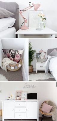 White And Pastel Bedroom 39