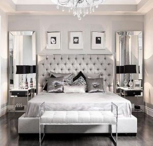 White And Pastel Bedroom 40