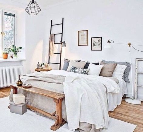 White And Pastel Bedroom 49