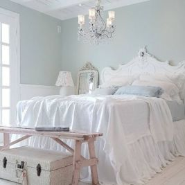 White And Pastel Bedroom 65