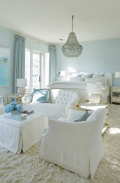 White And Pastel Bedroom 91