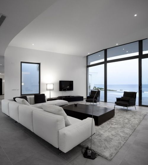 Elegant Contemporary Living Room 13