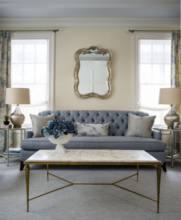 Elegant Contemporary Living Room 15