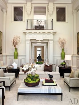 Elegant Contemporary Living Room 19