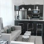 Elegant Contemporary Living Room 23