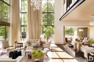 Elegant Contemporary Living Room 25