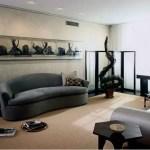 Elegant Contemporary Living Room 26