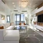 Elegant Contemporary Living Room 40