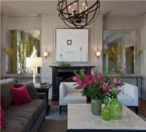 Elegant Contemporary Living Room 60
