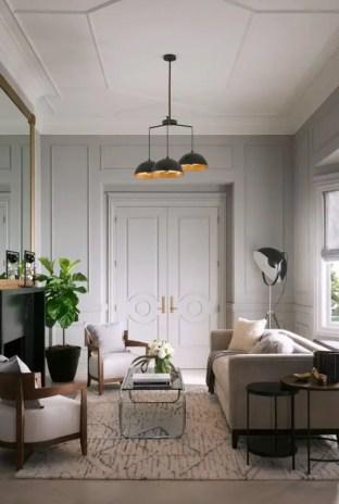 Elegant Contemporary Living Room 7