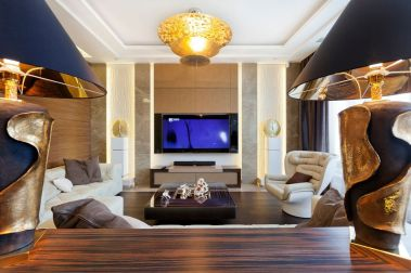 Elegant Contemporary Living Room 72
