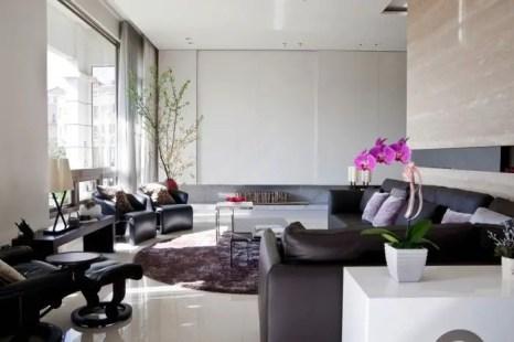 Elegant Contemporary Living Room 78