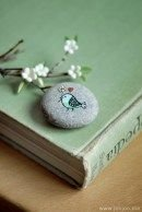Painted Rocks With Inspirational Picture And Words 58