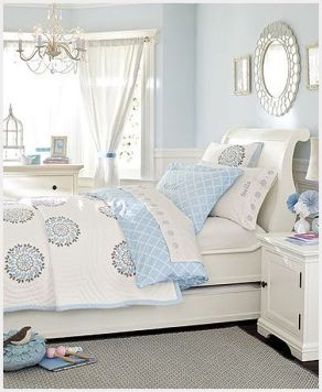 Pink White And Gold Bedroom 103