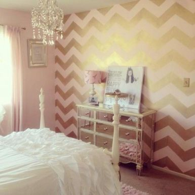 80+ Best Pink White And Gold Bedroom Ideas - decoratoo