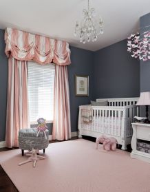 Pink White And Gold Bedroom 38