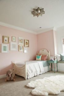 Pink White And Gold Bedroom 40