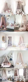 Pink White And Gold Bedroom 50