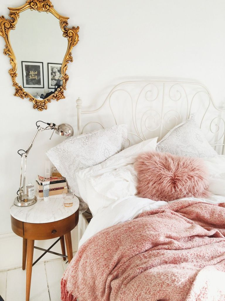 80 Best Pink White And Gold Bedroom Ideas Decoratoo