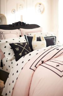 Pink White And Gold Bedroom 88